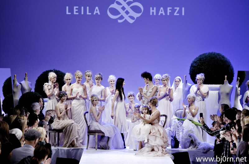 Leila Hafzi, visning p Oslo Fashion Week 2010
