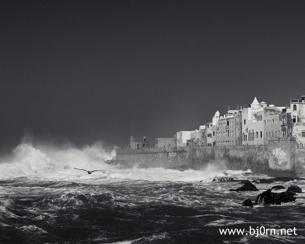 Photo: Bjrn Christiansen, Marrakech, Morocco - Waves in Essaouira