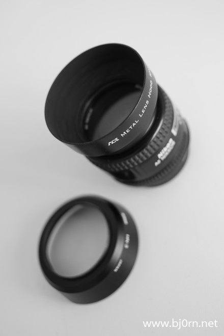 Lens Hood from Kaffebrus.com, photo: Bjørn Christiansen