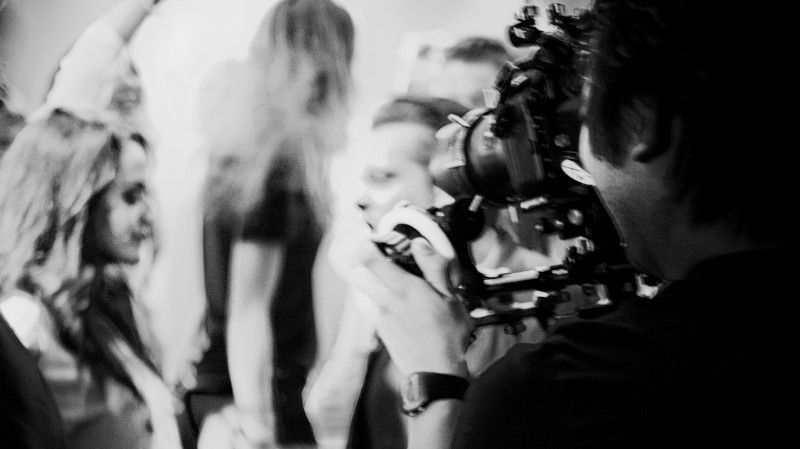 photo: Ole Adrian HeggliBehind the scenes, music video for Tempo